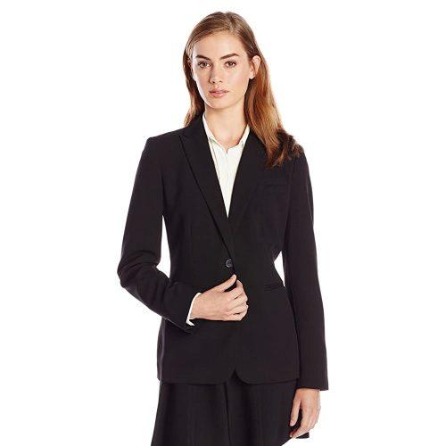 8.Calvin Klein women's suit - Black Women Suits | Black Women Suits