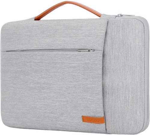 3. Lacdo 360° Protective Laptop Sleeve Case Computer Bag