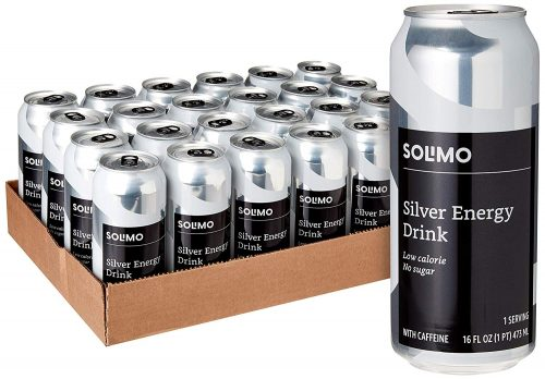 6. Solimo Silver Energy Drink | Healthy Energy Drinks
