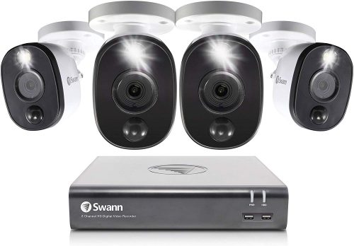 SWANN Motion Activated Security Camera - Motion Activated Security Cameras