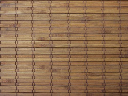Cordless Woven Wood Roman Shades
