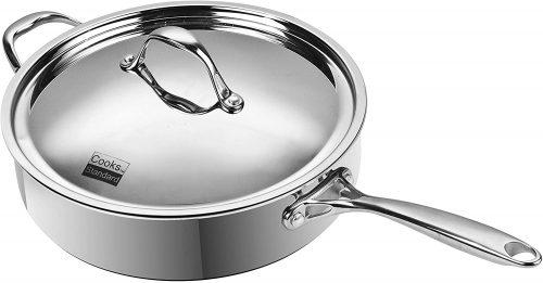 8. Cooks Standard 10.5-Inch/4 Quart Multi-Ply| Saute Pan