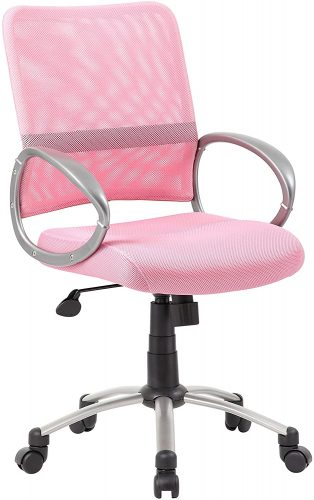 10. Boss Office Products Mesh Back Task Chair | Comfortable Office Chairs