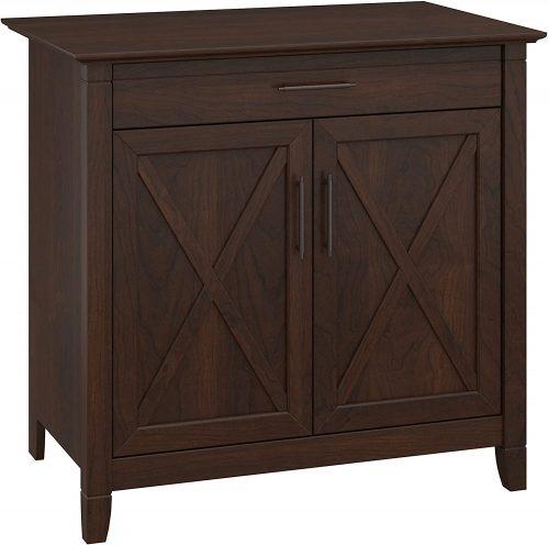 2. Bush Furniture Key West Secretary Desk