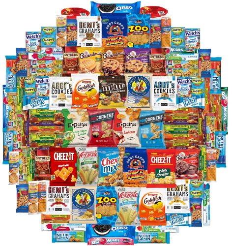5. Crunch n Munch Ultimate Care Package Assortment Gift Box