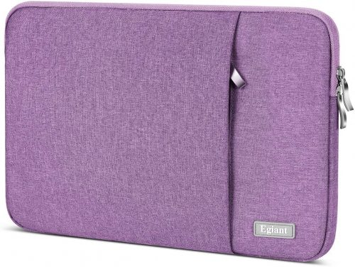 5. Laptop Sleeve 15.6 Inch, Egiant Water-Repellent Protective Fabric