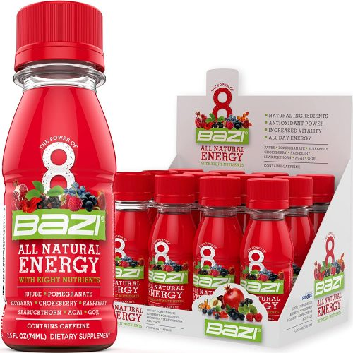 9. Bazi All Natural Energy Drink 12 Pack