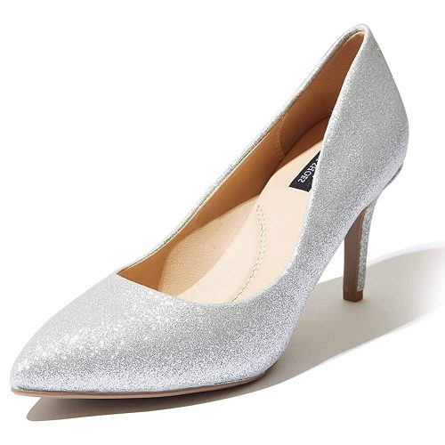 3. DailyShoes Women's high Heels Cushioned Office