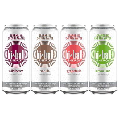 4.Hiball Energy Sparkling Water