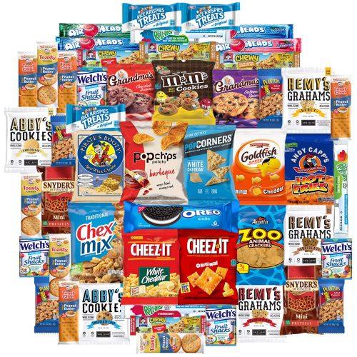 3. Cookies Chips & Candy Snacks Assortment Bulk