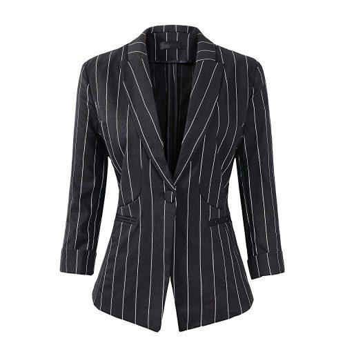 10. Women's Stripe 3/4 Sleeve Lightweight