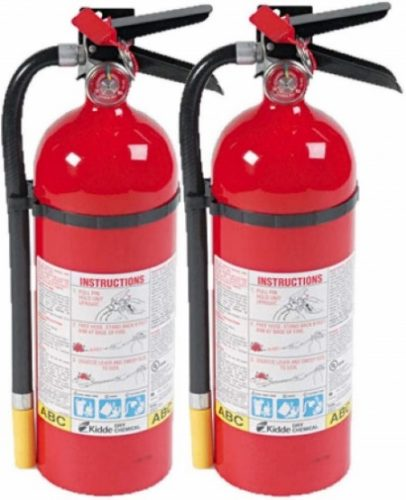 6. Kidde 466112 foam fire extinguisher