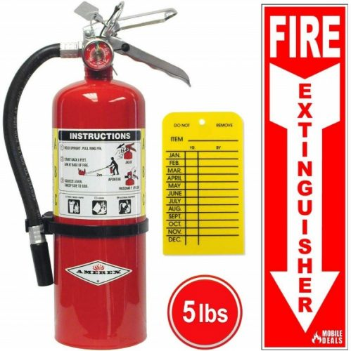 10. Amerex chemical multi-purpose extinguisher