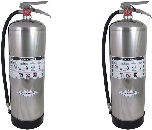 9. Amerex gallon water extinguisher