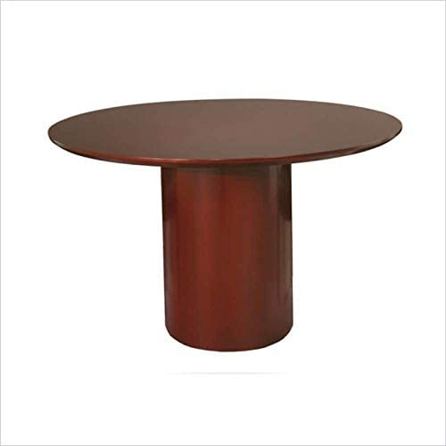 "10. Scranton & Co 48"" Round Conference Table in Sierra Cherry"