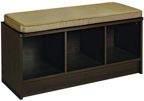 8. ClosetMaid 1570 Cubeicals 3-Cube Storage Bench