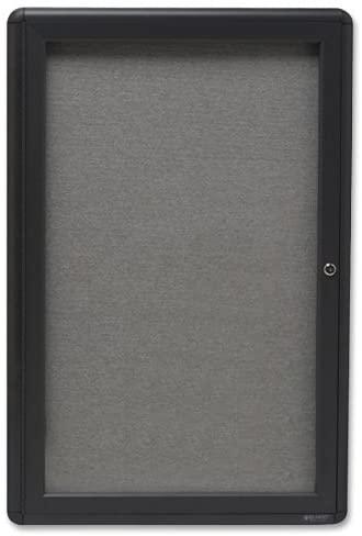 6. Quartet 2x3 feet Enclosed Bulletin Board