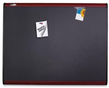 9. Quartet Prestige Plus 36x24 inches Magnetic Fabric Bulletin Board