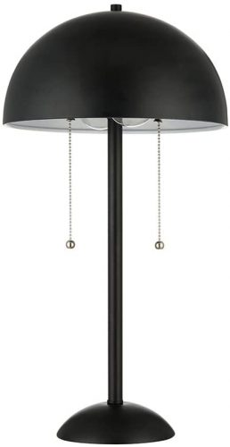 8. Rivet Dome-Shaped Retro Lamp