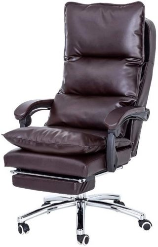 1. SMLCTY Executive Leather Reclining Heated Massage Office Heated Office Chair