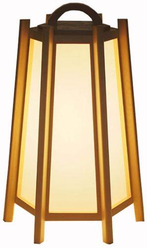 2. LOFAMI Japanese-Style Floor Lamp