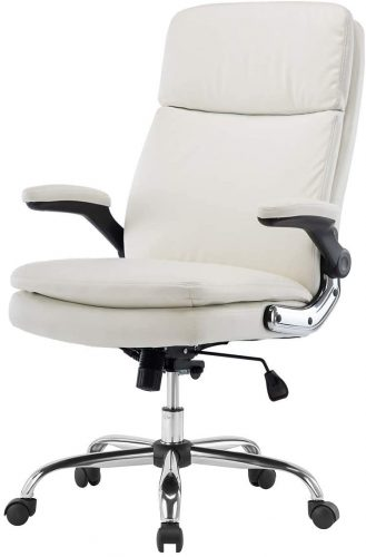 7. KERMS High Back Office Chair PU Leather Executive