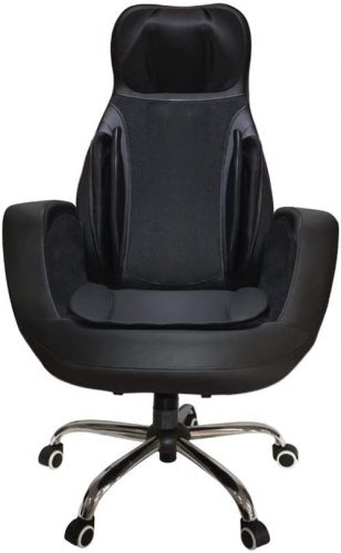 2. SMLCTY Massage Chair,with Heat Air Compression Vibration - Heated Office Chair