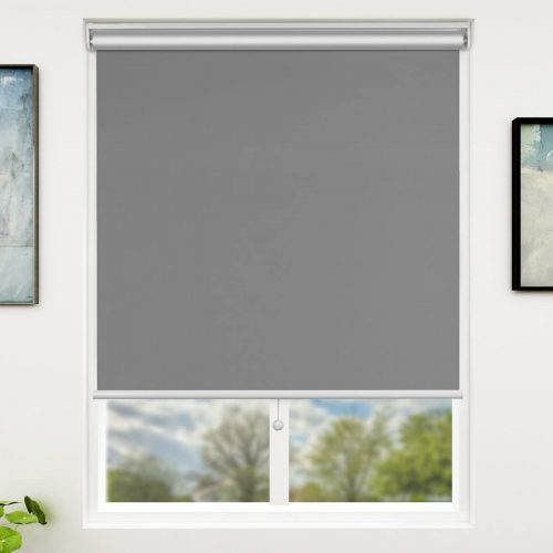 3. SUNFREE Beige Blackout Window Shades Cordless