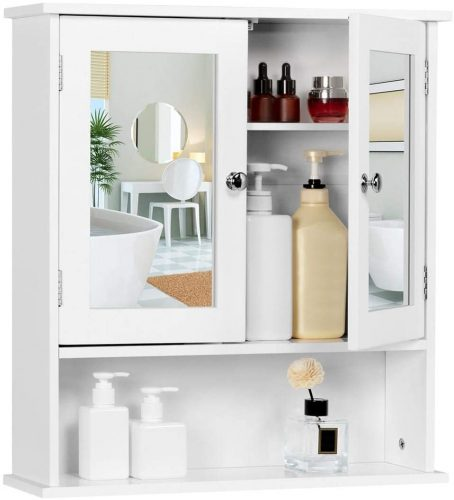 2. Yaheetech Bathroom Cabinet