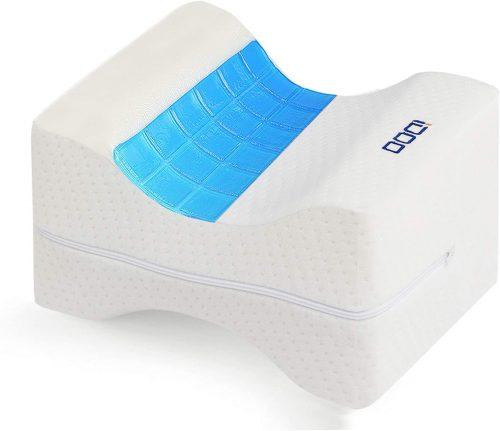 6. iDOO Memory Foam Knee Pillow
