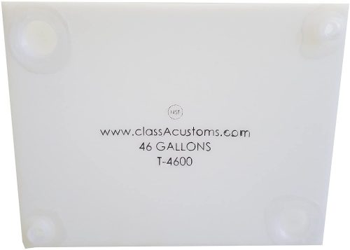 Class A Customs Water Holding Tank T-4600- Trailer Storage