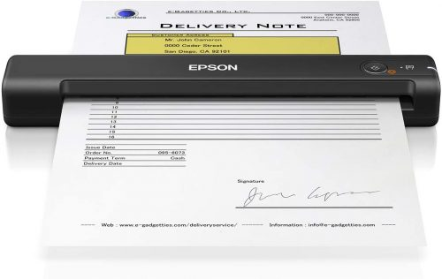 2. Epson WorkForce ES-50 Portable Sheet-fed Document Scanner