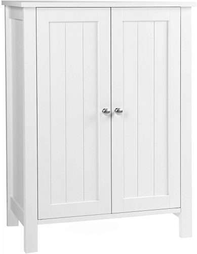 10. VASAGLE Bathroom Floor Storage Cabinet