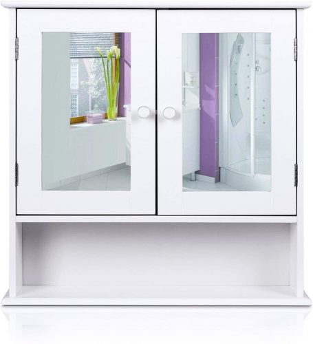 5. HOMFA Bathroom Cabinet Door