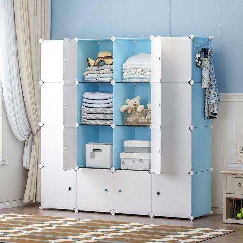 1. YOZO Portable Wardrobe Closet Dresser Chest Drawer
