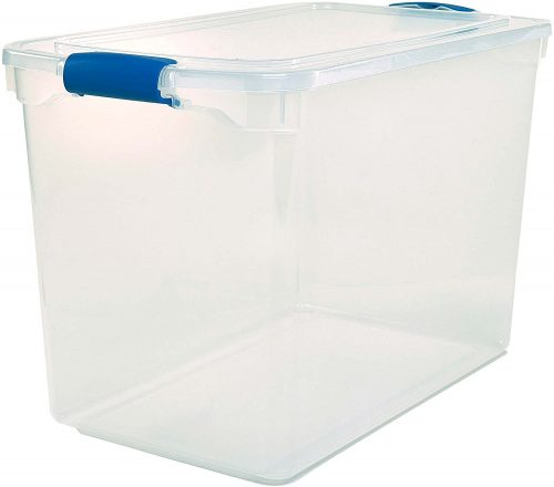 9. Homz Stackable Storage Bins