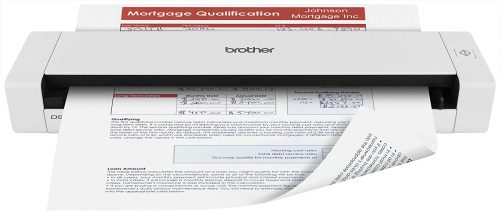 3. Brother DS-720D Mobile Color Page Scanner, White (DS720D)