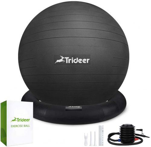 6. Trideer Exercise Ball Chair - Orthopedic Chairs