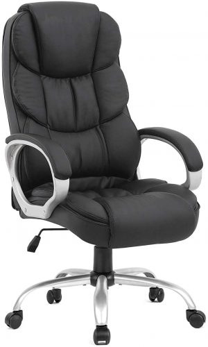 2. BestOffice Ergonomic PU Leather High Back Executive Office Chair