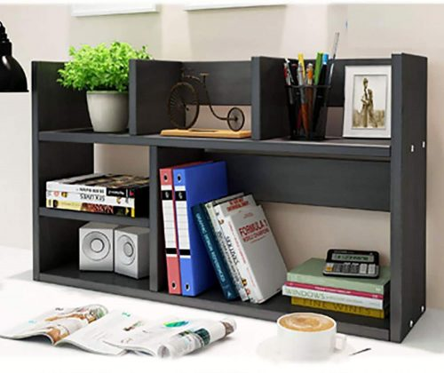 4. TY ARTS & CULTURE Black Expandable Wood