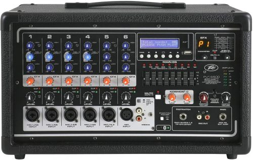 5. Peavey PVI Powered Mixer