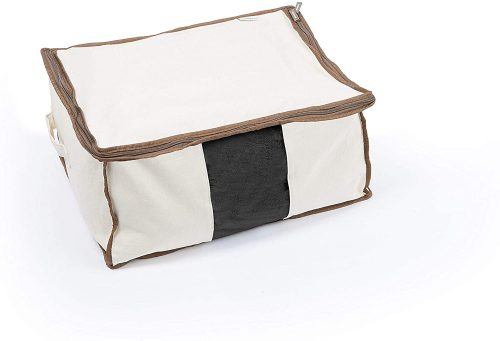 2. Covermates Keepsakes Canvas Storage Bag