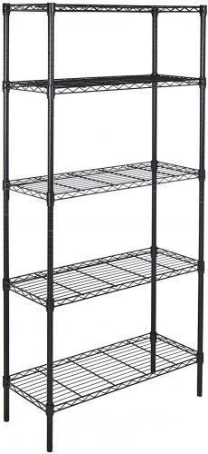 1. Amazon Basic Wire Rack