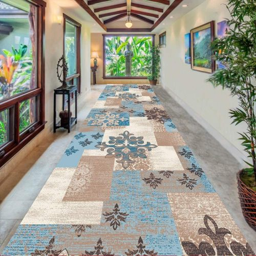 7. FF Hallway Traditional Long Area Rug