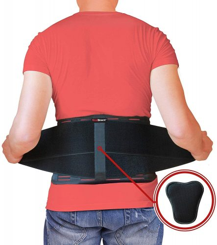 9. AidBrace Back Brace Support Belt