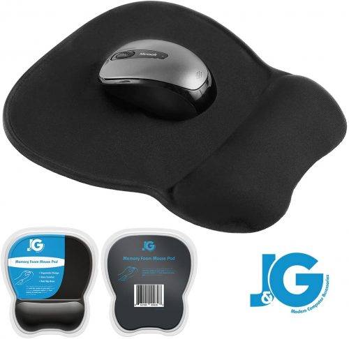7. J&G Mouse Pad (Ergonomic)