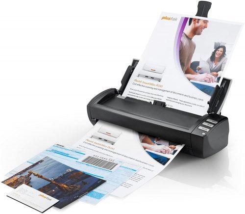 6. Plustek AD480 - Desktop Scanner for Card and Document