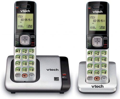 VTech CS6719-2 2-Handset Expandable Cordless | 2 Line Cordless Phones