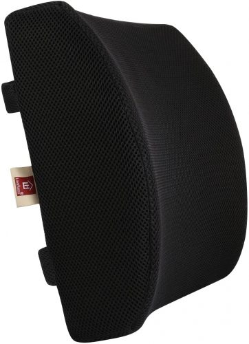 2. Lovehome Memory Foam Lumbar Support