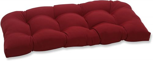 10. Pillow Perfect Outdoor/Indoor Pompeii Tufted Loveseat